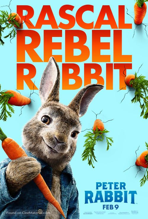 Peter Rabbit - Movie Poster