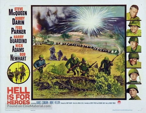 Hell Is for Heroes - Movie Poster