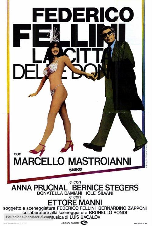 La città delle donne - Italian Movie Poster