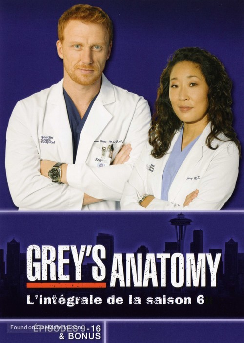 """Grey's Anatomy"" - French Movie Cover"