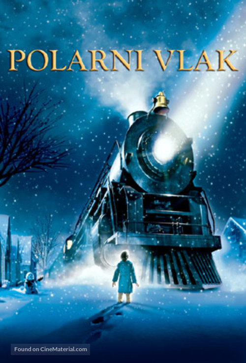 The Polar Express - Slovenian Movie Poster