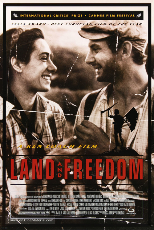 Land and Freedom - Movie Poster