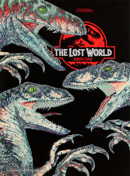 The Lost World: Jurassic Park - DVD cover