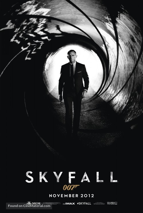 Skyfall - Movie Poster