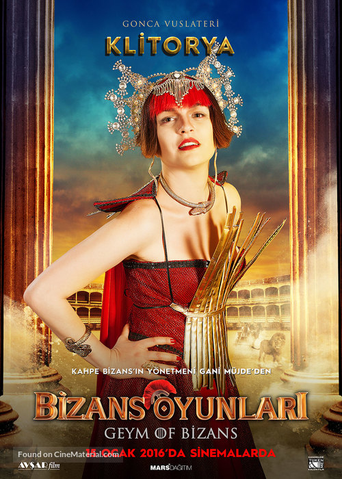 Bizans Oyunlari - Turkish Character movie poster