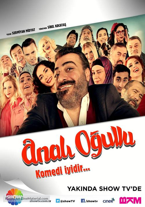 """Anali Ogullu"" - Turkish Movie Poster"