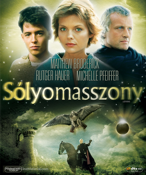 Ladyhawke - Hungarian DVD movie cover