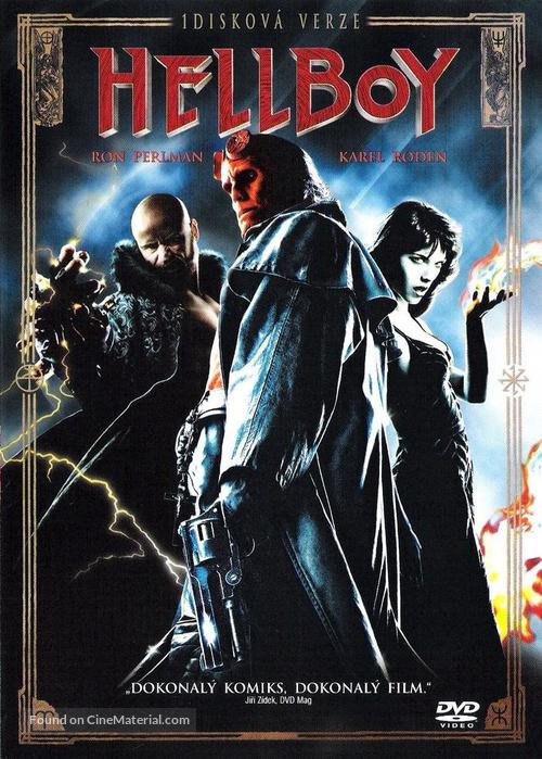 Hellboy - Slovak DVD movie cover
