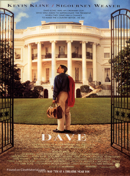 Dave - Movie Poster