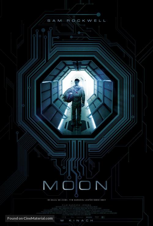 Moon - Polish Movie Poster