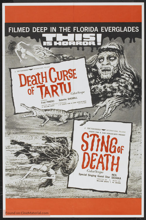 Sting of Death - Movie Poster