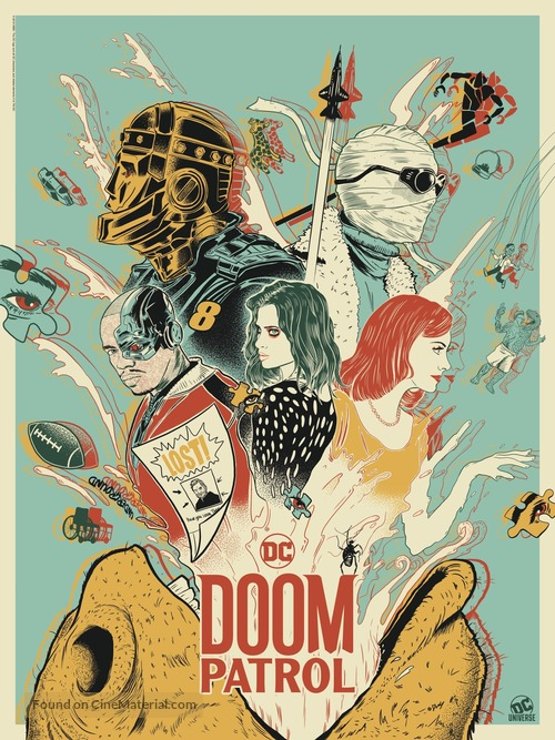 """Doom Patrol"" - Movie Poster"
