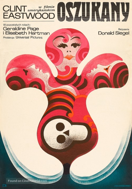 The Beguiled - Polish Movie Poster