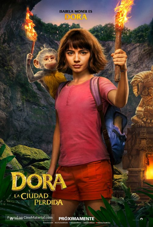 Dora and the Lost City of Gold - Argentinian Movie Poster