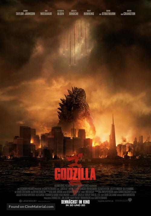 Godzilla - German Movie Poster