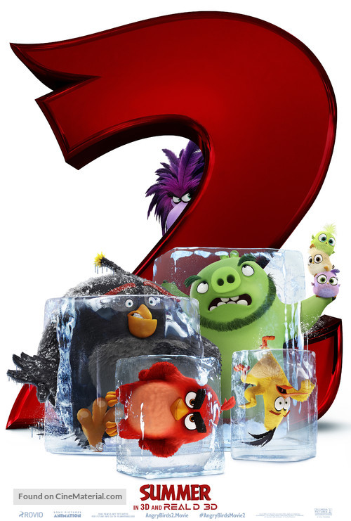The Angry Birds Movie 2 - Movie Poster
