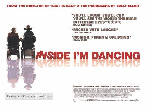 Inside I'm Dancing - British Movie Poster