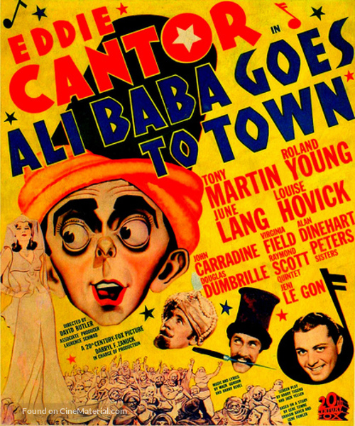 Ali Baba Goes to Town - Movie Poster