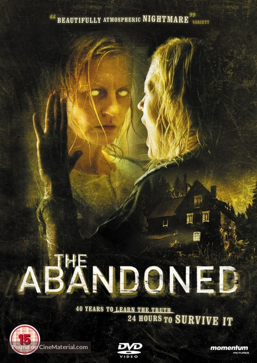 The Abandoned - British DVD cover