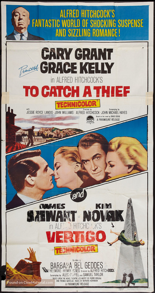 To Catch a Thief - Combo poster