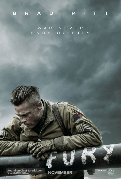 Fury - Movie Poster