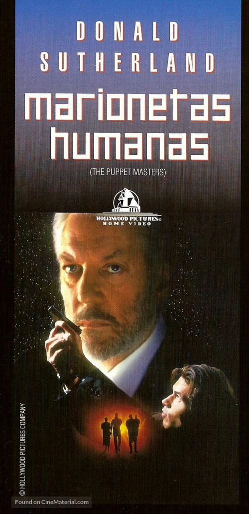 The Puppet Masters Argentinian Movie Poster
