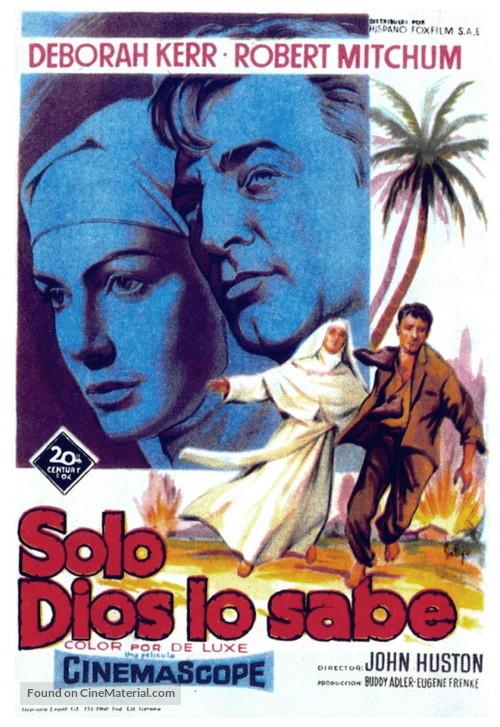Heaven Knows, Mr. Allison - Spanish Movie Poster