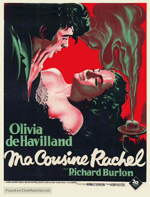 My Cousin Rachel - French Movie Poster