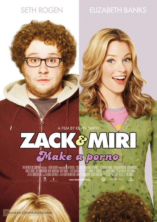 Zack and Miri Make a Porno - Swedish Movie Poster