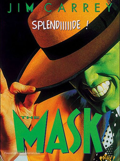 The Mask - French Blu-Ray cover