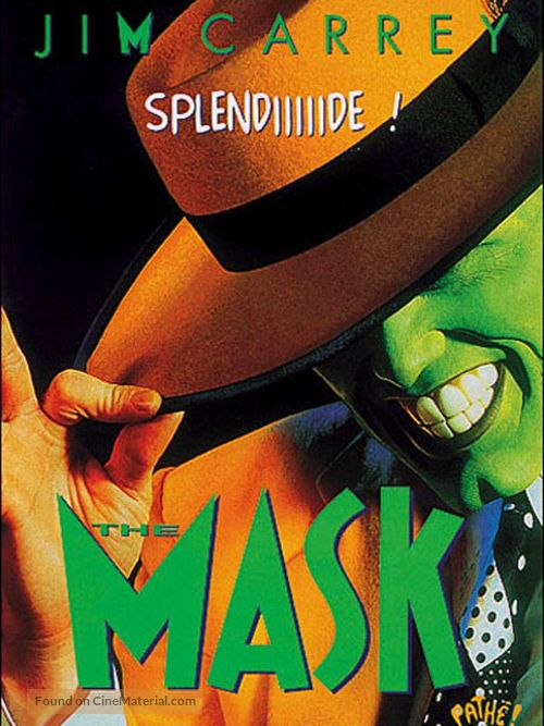 The Mask - French Blu-Ray movie cover