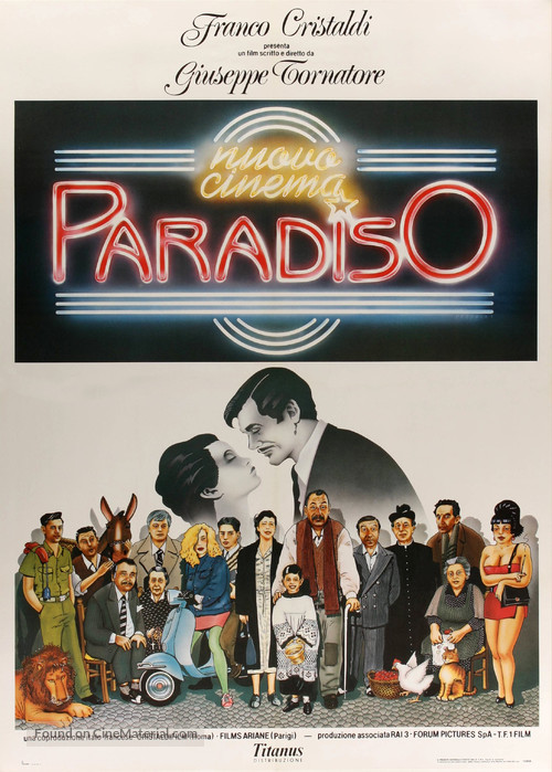 Nuovo cinema Paradiso - Italian Movie Poster