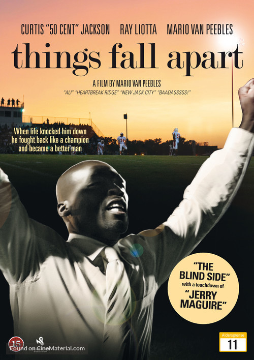 Things Fall Apart Danish Dvd Cover