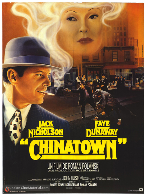 Chinatown - French Movie Poster