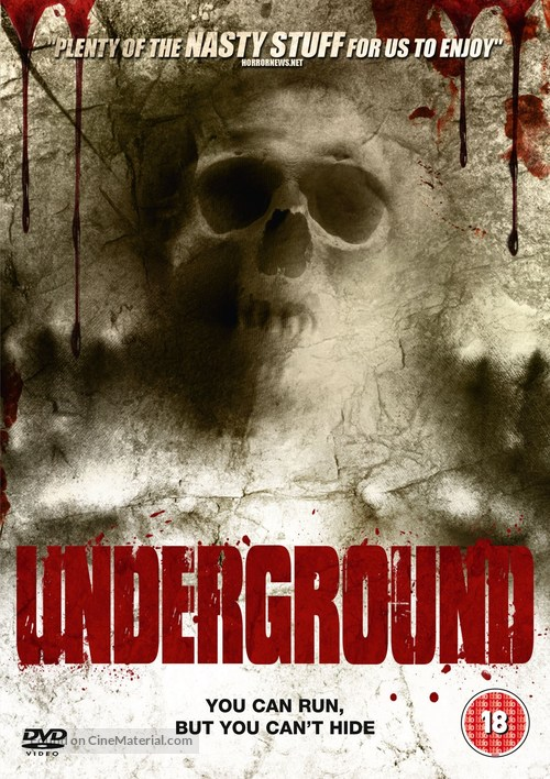 Underground - British DVD cover