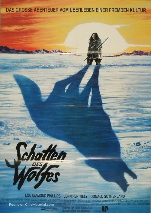 Shadow of the Wolf - German Movie Poster