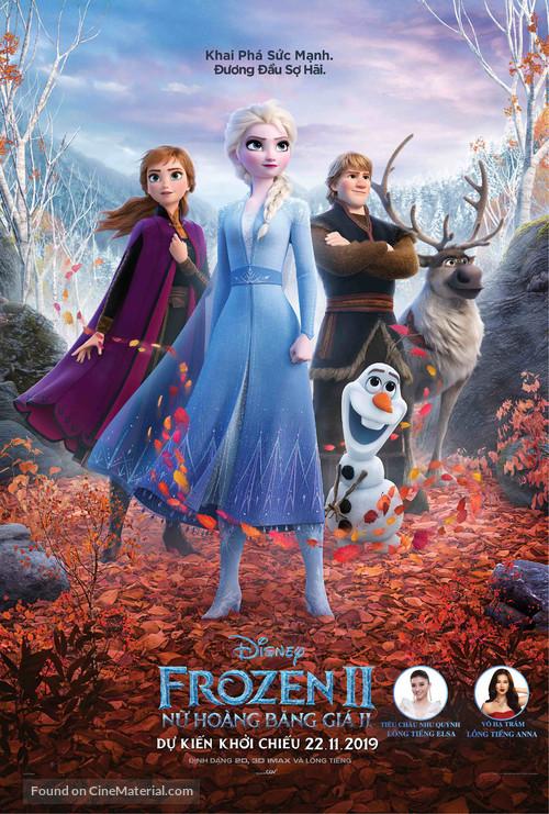 Frozen II - Vietnamese Movie Poster