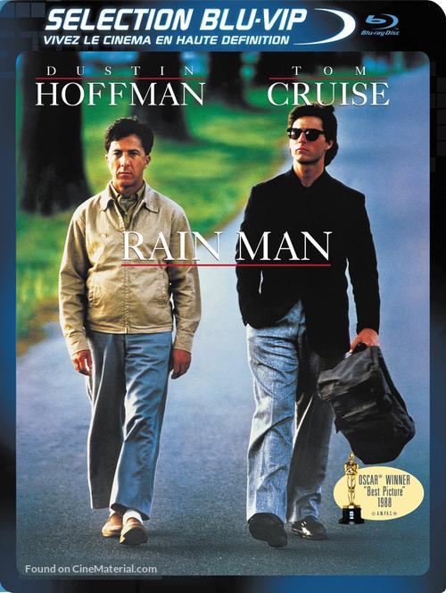 Rain Man - French Blu-Ray movie cover