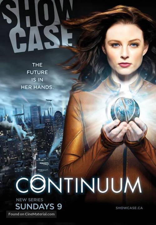 """""""Continuum"""" - Canadian Movie Poster"""