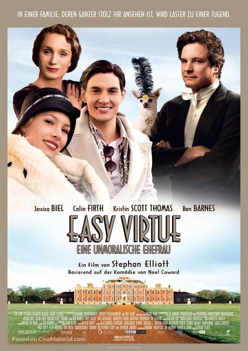 Easy Virtue - German Movie Poster