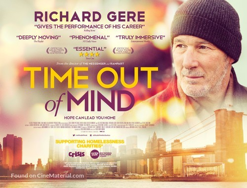 Time Out of Mind - Irish Movie Poster