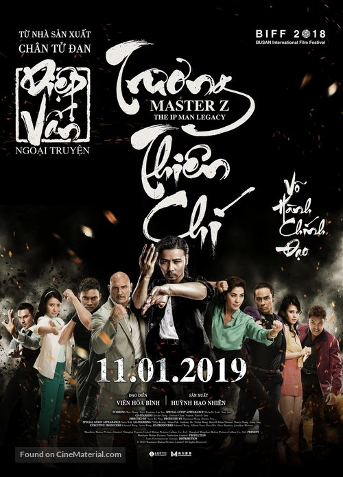 Ye Wen hui chuan: Zhang Tianzhi - Vietnamese Movie Poster