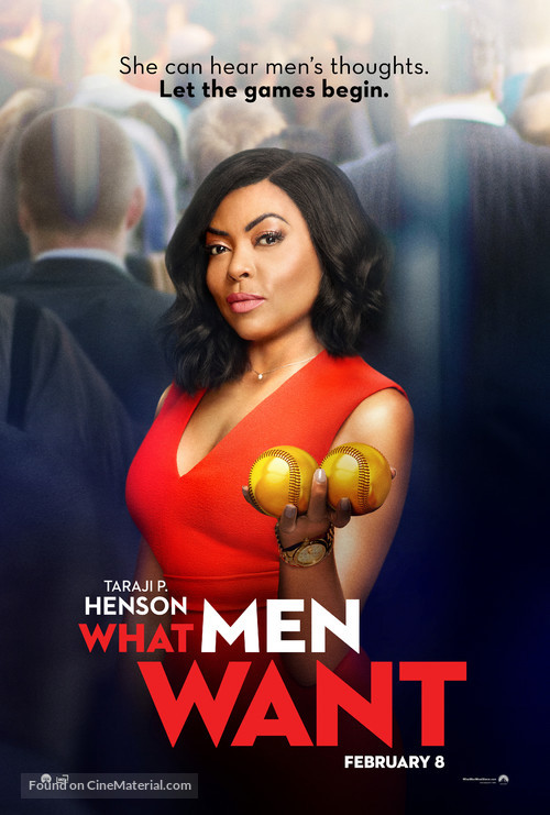 What Men Want - Movie Poster