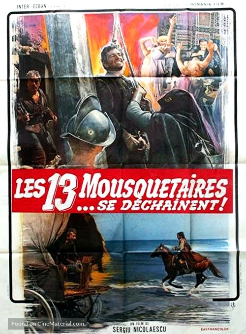 Nemuritorii - French Movie Poster