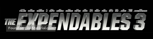 The Expendables 3 - Logo
