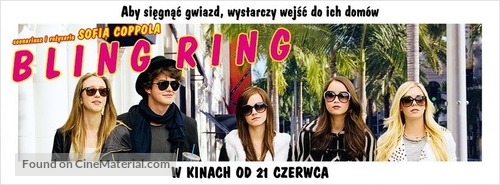 The Bling Ring - Polish Movie Poster