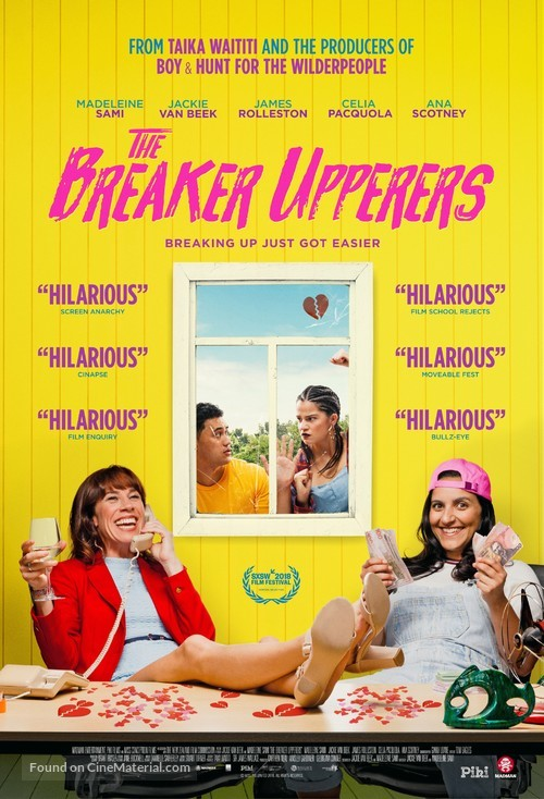 The Breaker Upperers - New Zealand Movie Poster