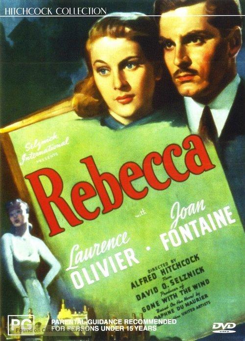 Rebecca - Australian DVD cover