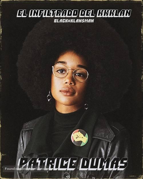 BlacKkKlansman - Argentinian Movie Poster