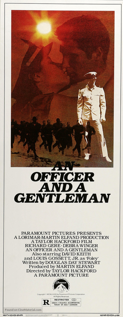 An Officer and a Gentleman - Movie Poster